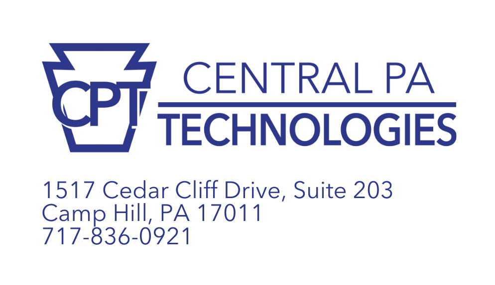 CPT Logo and Address
